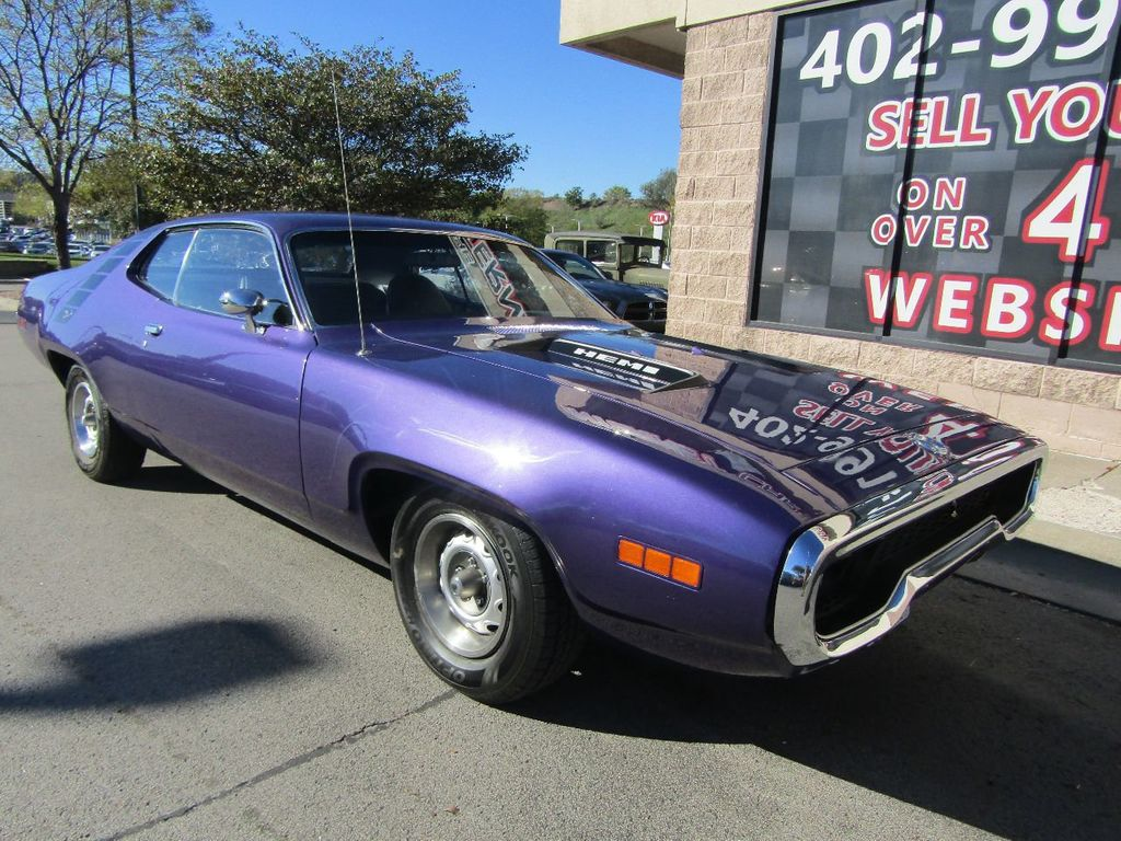 1971 Used Plymouth Road Runner At The Internet Car Lot