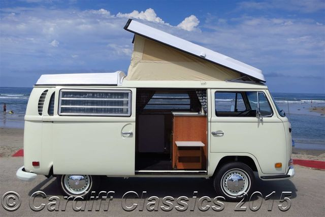 1971 Used Volkswagen Westfalia Bus Type 2 Bay-Window Pop-Top at Cardiff Classics Serving ...
