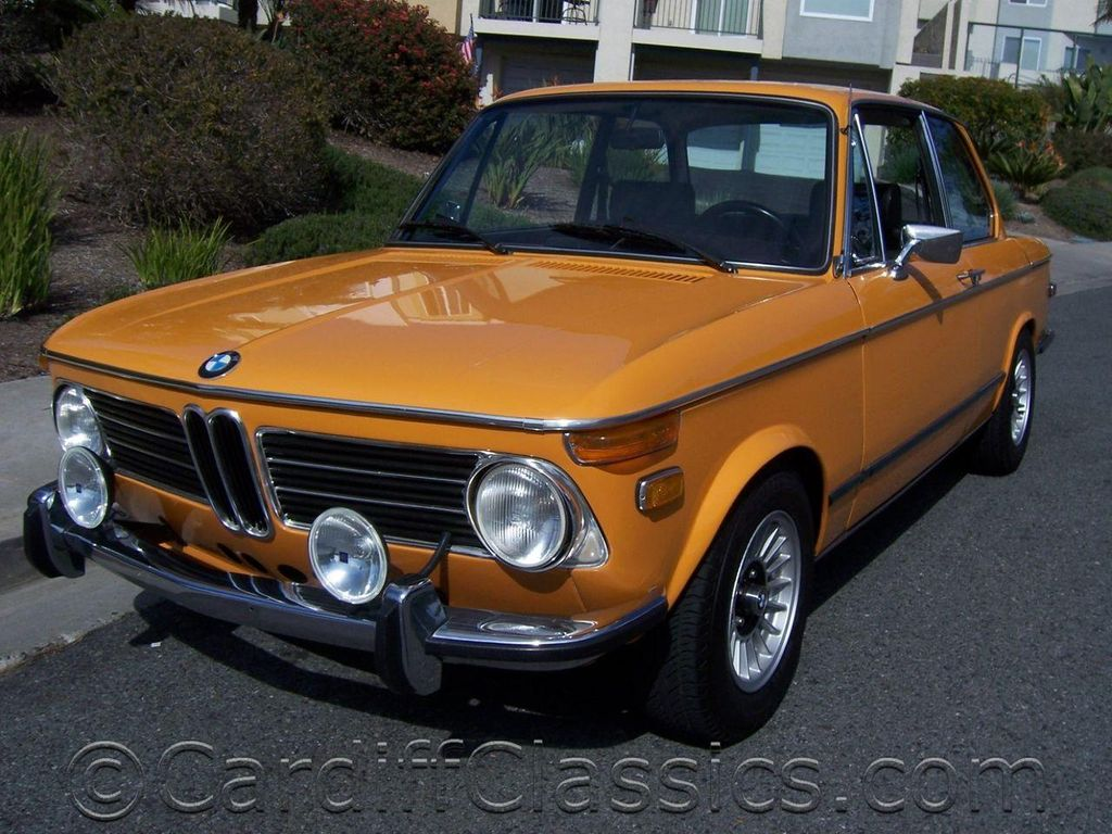 1972 Used Bmw 2002 Tii Coupe Original 5 Speed Car At Cardiff Classics Serving Encinitas Ca Iid 10136319