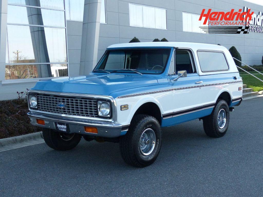 1972 Chevrolet Blazer  - 18707057 - 0