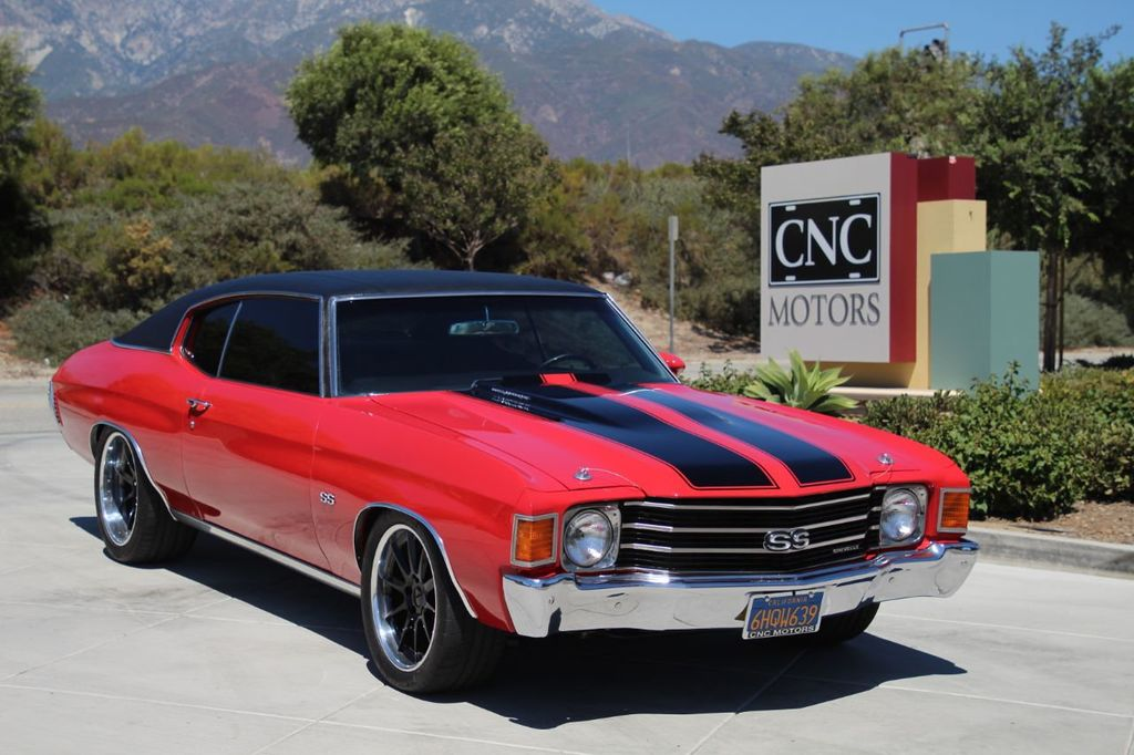 1972 Used Chevrolet Chevelle Ss Real Chevelle Ss See Photos For Details At Cnc Motors Inc Serving Upland Ca Iid 20252312