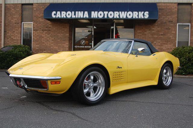 1972 Chevrolet Corvette Roadster 1972 Chevrolet Corvette Roadster