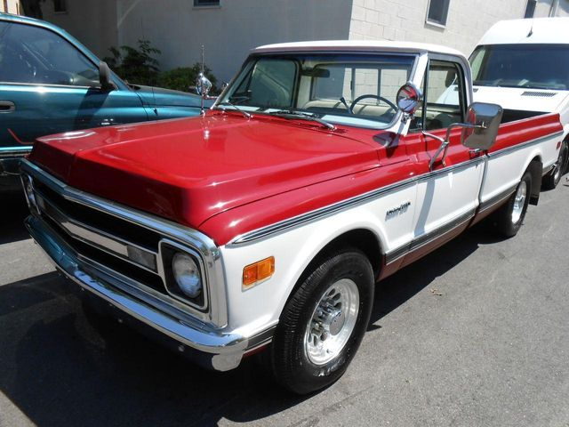 1972 Chevrolet CUSTOM/20 REG CAB PICKUP