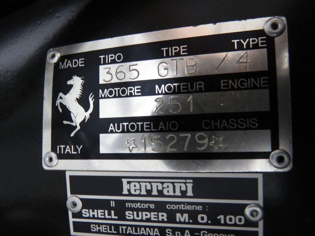 1972 Ferrari Daytona  - 18837913 - 33