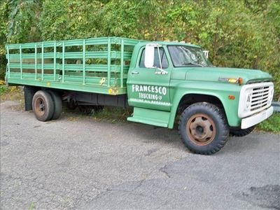 1972 Ford 600 Rack Body  Not Specified