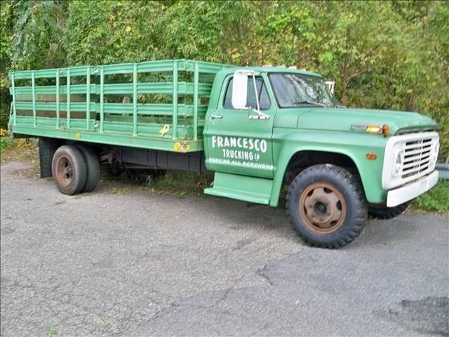 1972 Ford 600 Rack Body