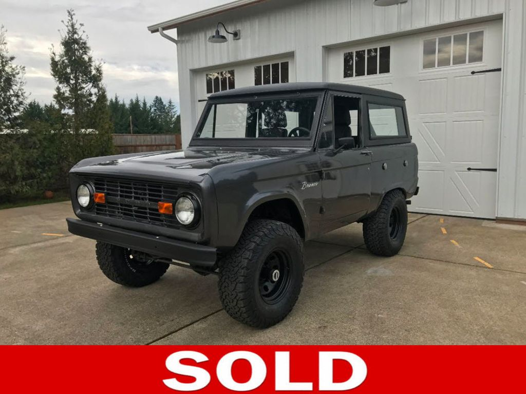 1972 Ford Bronco  - 16272333 - 0
