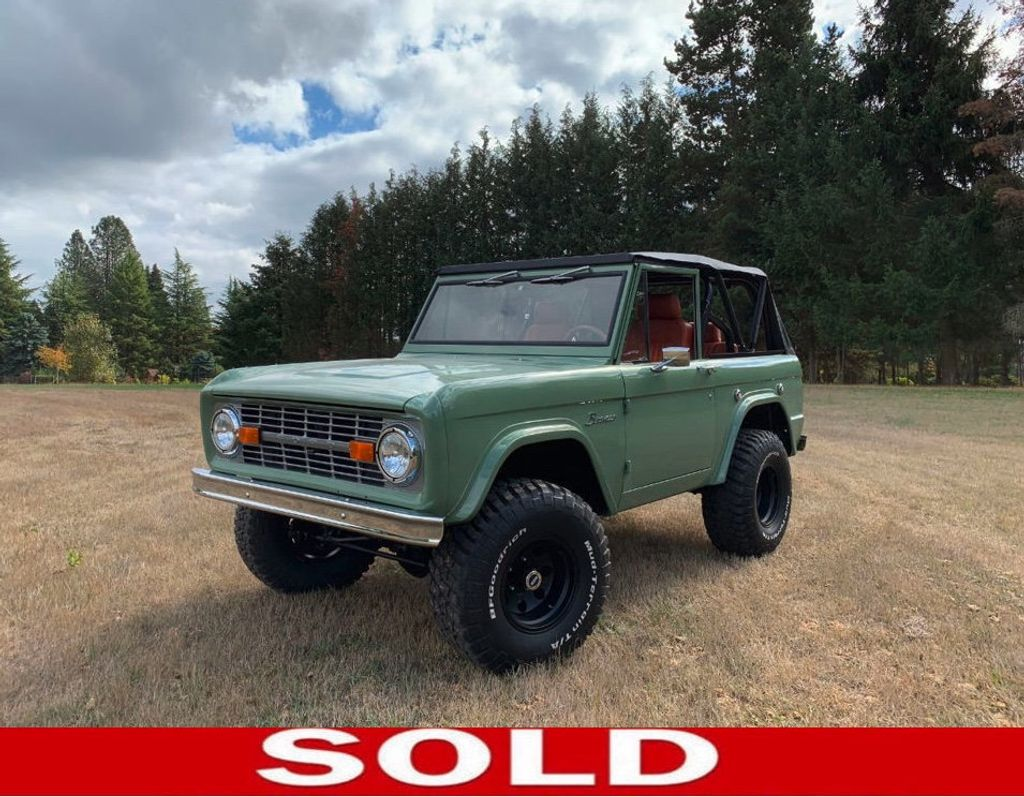 1972 Ford Bronco  - 17886094 - 0