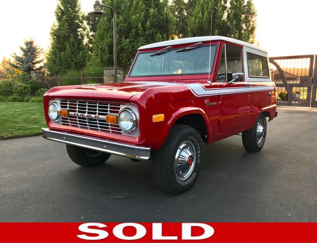 1972 Ford Bronco 302 V8 Uncut, AT, PS and a V8!  - 18007832 - 0
