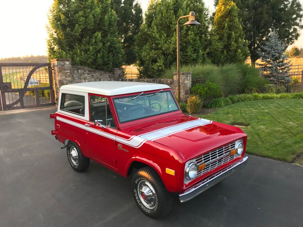 1972 Ford Bronco 302 V8 Uncut, AT, PS and a V8!  - 18007832 - 10