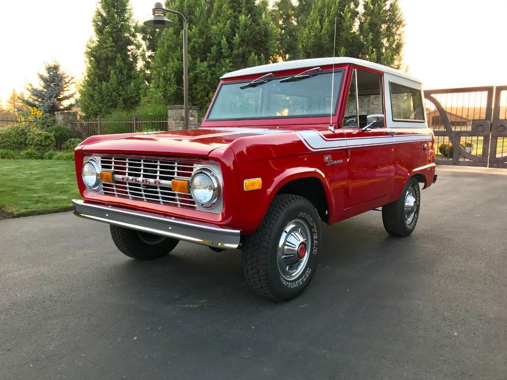 1972 Ford Bronco 302 V8 Uncut, AT, PS and a V8!  - 18007832 - 1