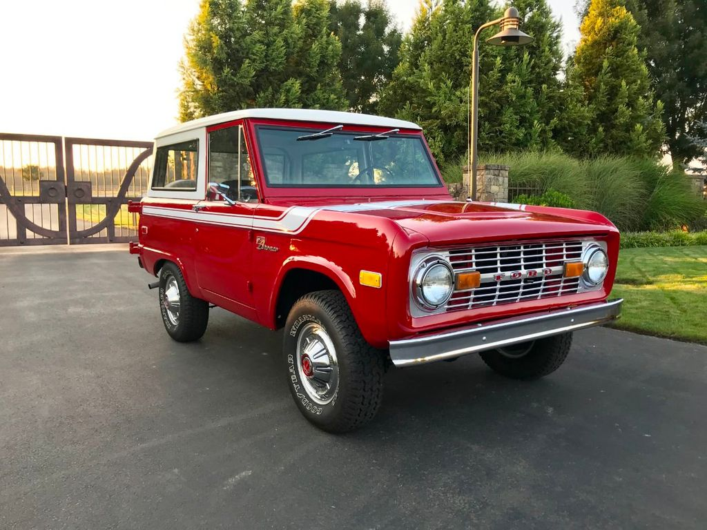 1972 Ford Bronco 302 V8 Uncut, AT, PS and a V8!  - 18007832 - 2