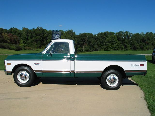 1972 Gmc Sierra Grande Cheyenne Truck Not Specified Not