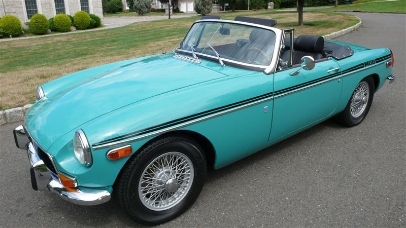 1972 MG MGB SHOW CAR - 9088983