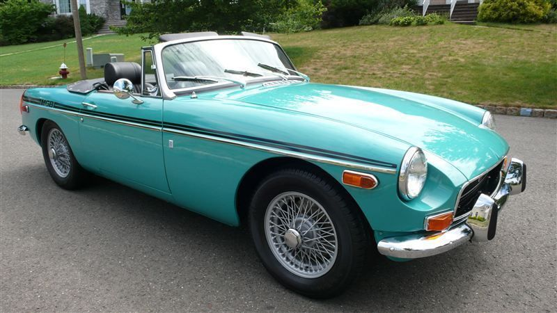 1972 MG MGB SHOW CAR - 9088983 - 2