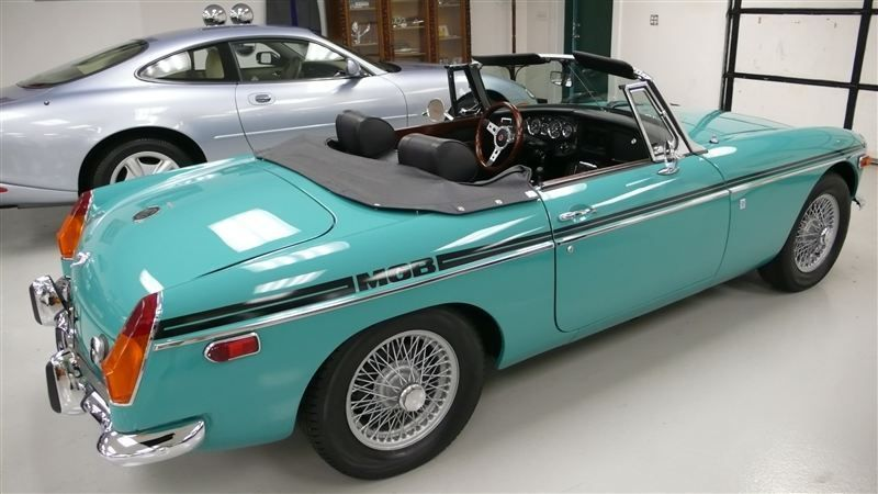 1972 MG MGB SHOW CAR - 9088983 - 59