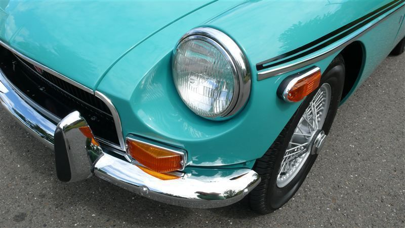 1972 MG MGB SHOW CAR - 9088983 - 7