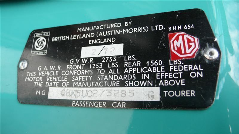 1972 MG MGB SHOW CAR - 9088983 - 86