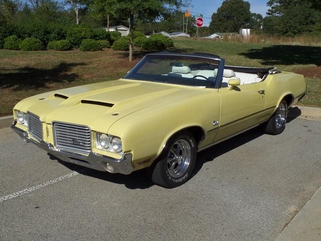 1972 Oldsmobile Cutlass Convertible SOLD - 12644623 - 12