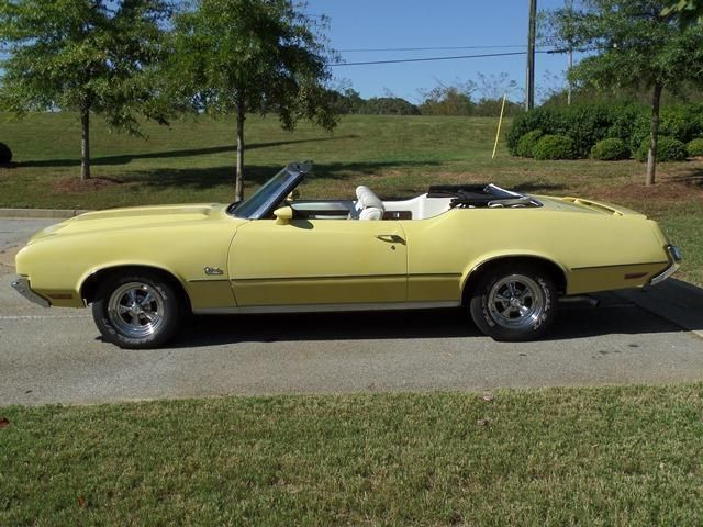 1972 Oldsmobile Cutlass Convertible SOLD - 12644623 - 13
