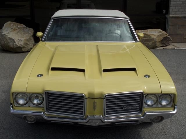 1972 Oldsmobile Cutlass Convertible SOLD - 12644623 - 14