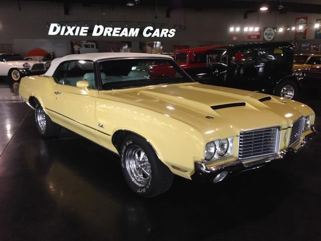 1972 Oldsmobile Cutlass Convertible SOLD - 12644623 - 16