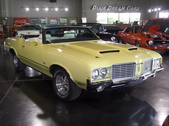1972 Oldsmobile Cutlass Convertible SOLD - 12644623 - 17