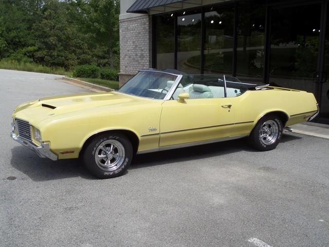 1972 Oldsmobile Cutlass Convertible SOLD - 12644623 - 2
