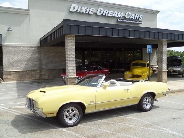 1972 Oldsmobile Cutlass Convertible SOLD - 12644623 - 3