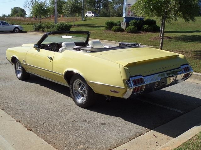 1972 Oldsmobile Cutlass Convertible SOLD - 12644623 - 4