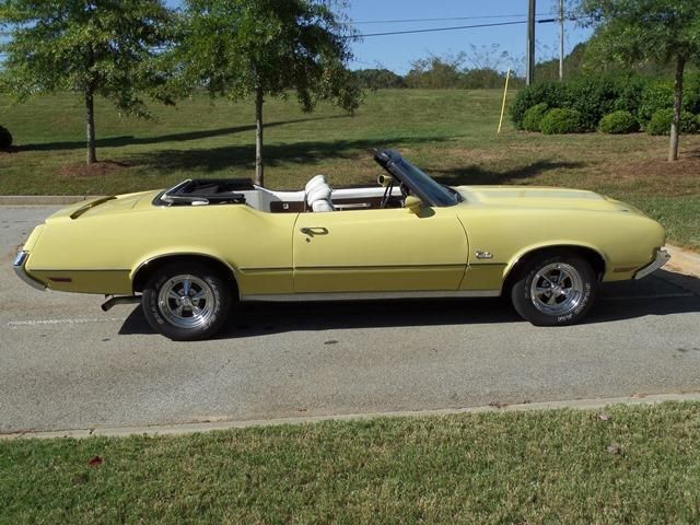 1972 Oldsmobile Cutlass Convertible SOLD - 12644623 - 7