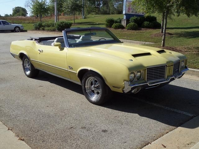 1972 Oldsmobile Cutlass Convertible SOLD - 12644623 - 8