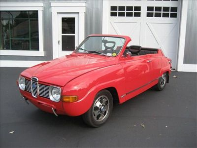 1972 Saab 96 Cabriolet Custom Drop Top - Click to see full-size photo viewer