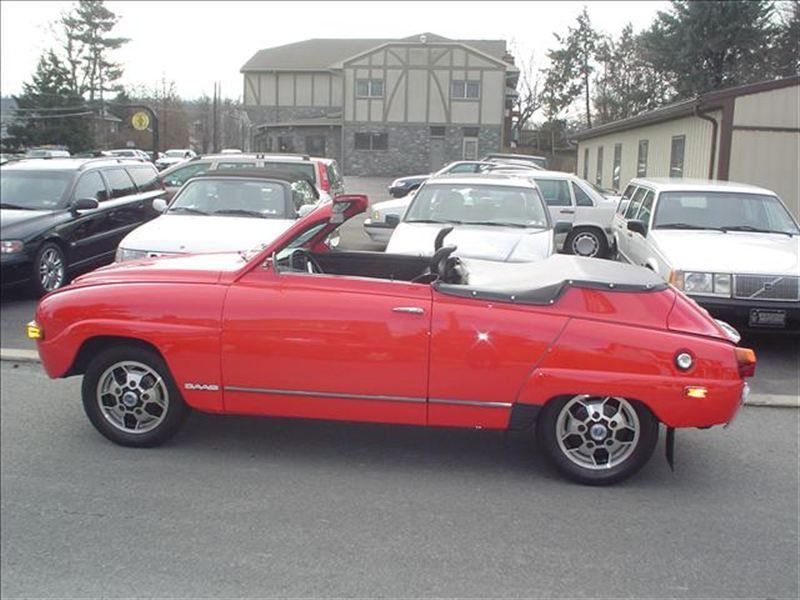 1972 Saab 96 Cabriolet Custom Drop Top Convertible - 96722009994 - 6