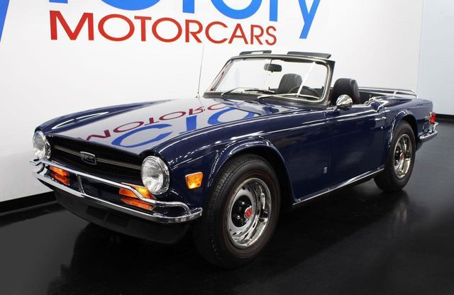 1972 Used Triumph Tr6 Roadster At Victory Motorcars Serving Houston