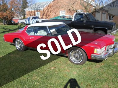 1973 Buick Grand Sport GS For Sale Coupe