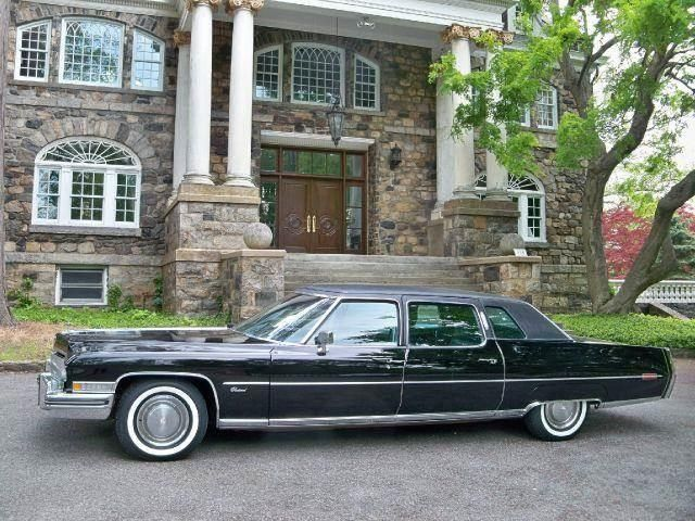 Limousine For Sale >> 1973 Used Cadillac Series 75 75 Limo At Auto King Sales Inc Serving