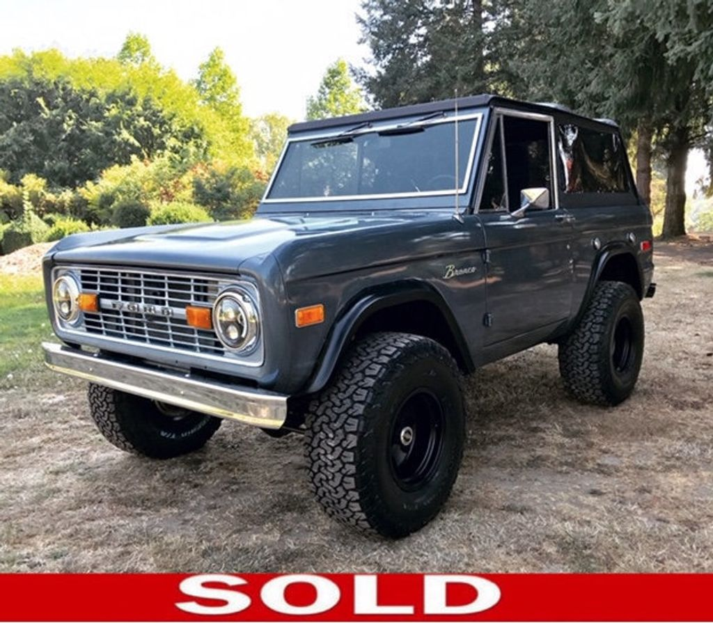 1973 Ford Bronco 5.0 Fuel Injected V8!  - 18007834 - 0