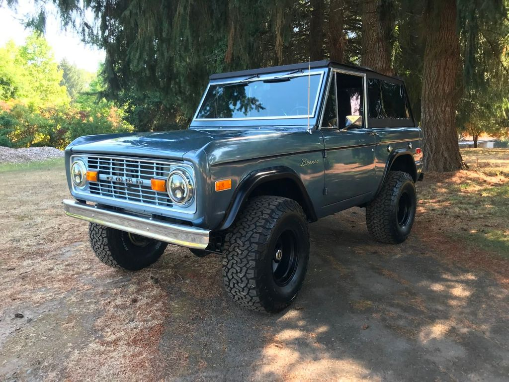1973 Ford Bronco 5.0 Fuel Injected V8!  - 18007834 - 2
