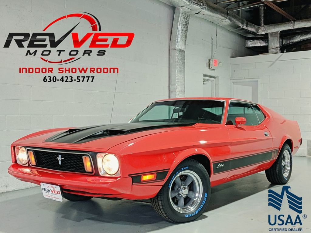 1973 used ford mustang mach 1 351 cleveland at revved motors serving addison il iid 18938295