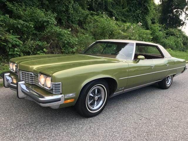 1973 Pontiac Grand Ville 454 Big Block Sedan For Sale Pound Ridge