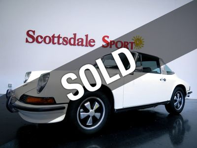 1973 Porsche 911 T TARGA ONLY 54K MILES. 1,944 BUILD BOSCH CIS INJECTION 140hp 2.4L