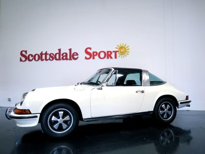 1973 Porsche 911 T TARGA ONLY 54K MILES. 1,944 BUILD BOSCH CIS INJECTION 140hp 2.4L   - Click to see full-size photo viewer