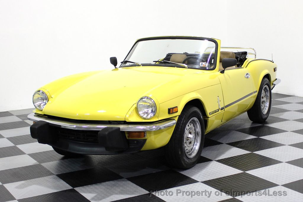 1973 used triumph spitfire spitfire convertible at eimports4less serving doylestown bucks. Black Bedroom Furniture Sets. Home Design Ideas