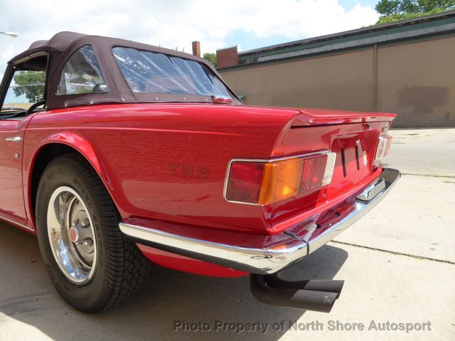 1973 Triumph TR - 6  - Click to see full-size photo viewer