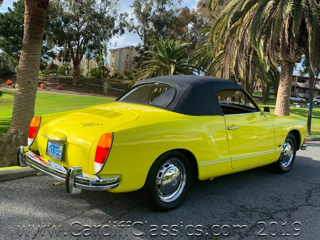 1973 Volkswagen Karmann Ghia  - Click to see full-size photo viewer
