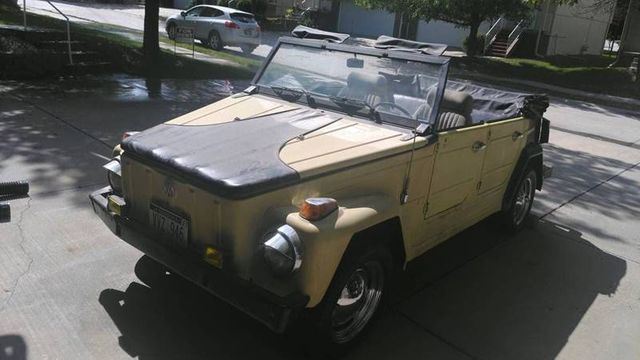 Volkswagen Thing For Sale >> 1973 Volkswagen Thing Convertible For Sale Bellmore Ny 8 200 Motorcar Com