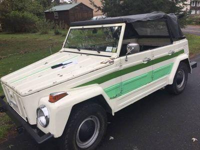 1973 Volkswagen Thing  Convertible