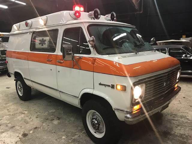 1974 Chevrolet G30 Vanguard Ambulace