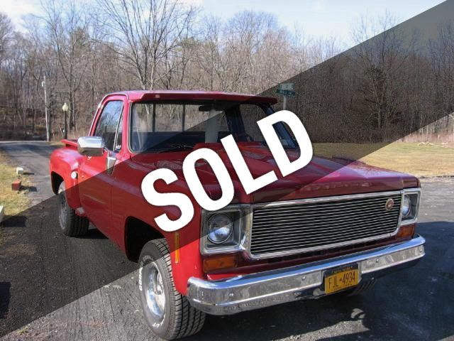 1974 Used Chevrolet Stepside For Sale At Webe Autos Serving Long Island Ny Iid 16138123